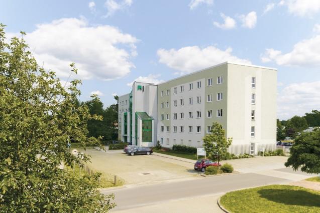 Firmensitz der Wohnungsgesellschaft mbH Hoyerswerda