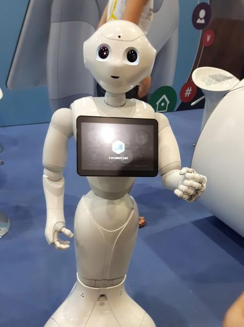 Pepper von SoftBank Robotics (Quelle: Andrea Prittmann)