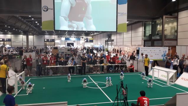 Fußballspiel der Standard-Plattform (Quelle: Andrea Prittmann)