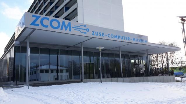 Frontansicht des Zuse-Computer-Museums, 2017 (Quelle: Andrea Prittmann)
